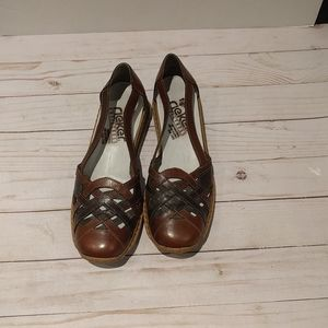 🍀Nice leather sandlas by Rieker 🌸🍀